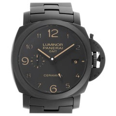 Panerai Luminor 1950 3 Days Tuttonero GMT Ceramic Men's Watch PAM00438