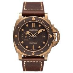 Panerai Luminor 1950 Automatic Brown Dial Men's Watch Pam00968