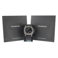 Panerai Luminor 1950, Missing, Black Dial, Certified and Warranty