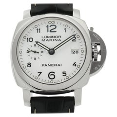 Panerai Luminor 1950 PAM00523, White Dial, Certified and Warranty