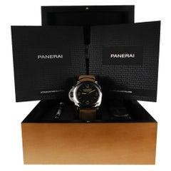 Panerai Luminor 1950 PAM00557, Black Dial, Certified and Warranty