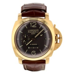 Panerai Luminor 1950 PAM00576, Brown Dial, Certified and Warranty