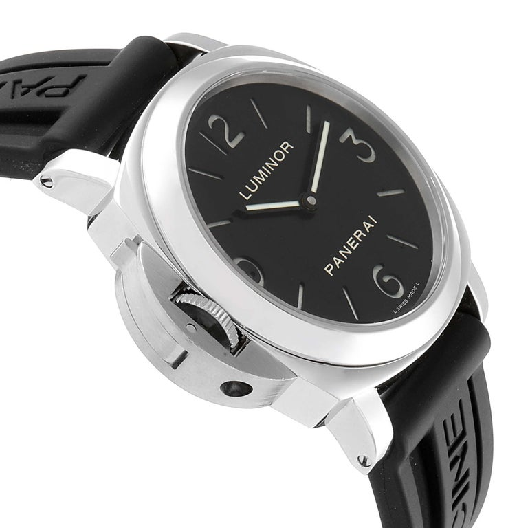 Panerai Luminor Base Left Handed Watch PAM219 PAM00219 For Sale 1