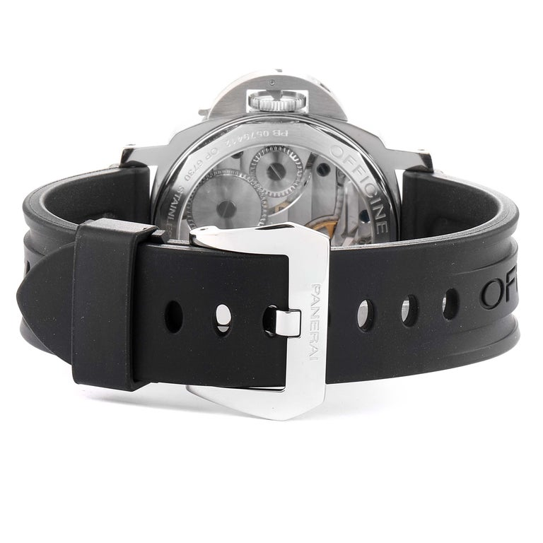 Panerai Luminor Base Left Handed Watch PAM219 PAM00219 For Sale 3