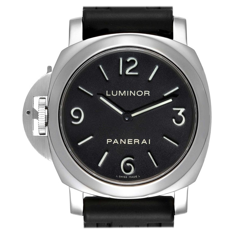 Panerai Luminor Base Left Handed Watch PAM219 PAM00219 For Sale