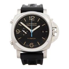 Panerai Luminor Chronograph Stainless Steel PAM00524 Wristwatch