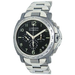 Panerai Luminor Chronograph Titanium Automatic Men's Watch PAM00074