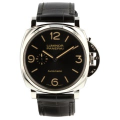 Panerai Luminor Due PAM00674, Black Dial, Certified and Warranty