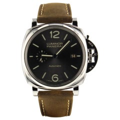 Panerai Luminor Due PAM00904, Millimeters Black Dial, Certified and Warranty