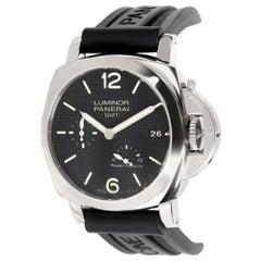 Panerai Luminor GMT Power Reserve PAM00537 Men's Watch in Stainless Steel