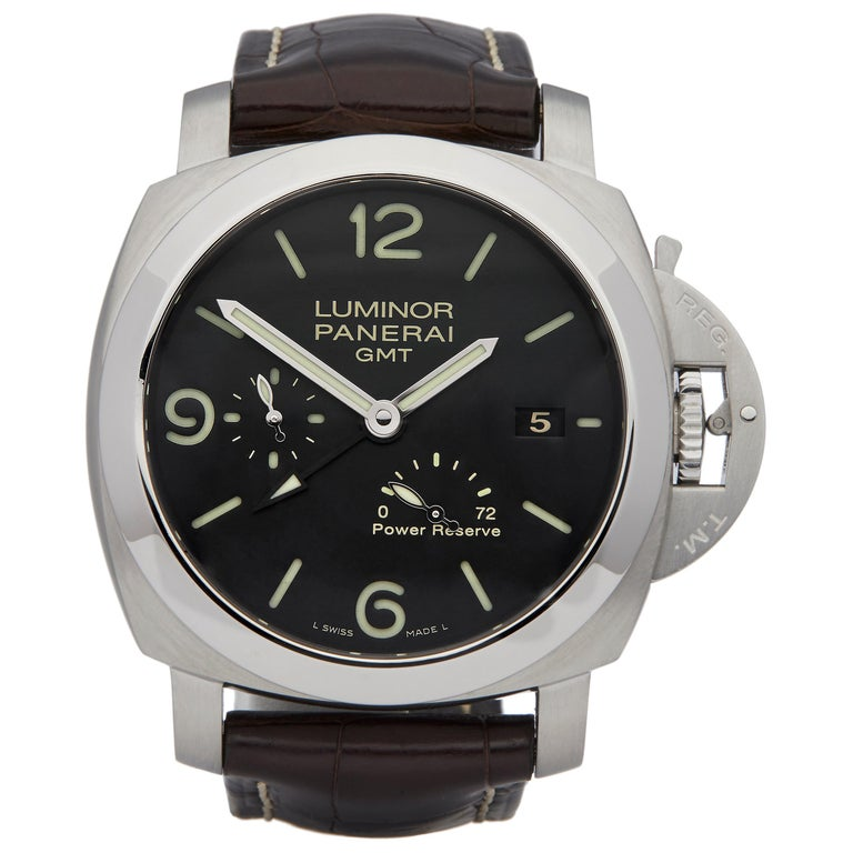 Panerai Luminor Gmt Stainless Steel PAM00321 For Sale