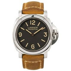Panerai Luminor Limited Edition PAM00390 Men's Hand Wind Watch Tobacco Dial