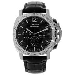 Panerai Luminor Limited Edition White Gold Chronograph Watch PAM00045