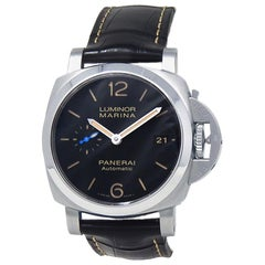 Panerai Luminor Marina 1950 PAM01312, Black Dial, Certified &