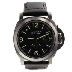 Panerai Luminor Marina PAM00028, Black Dial, Certified and Warranty