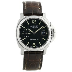 Panerai Luminor Marina PAM00048, Black Dial, Certified and Warranty