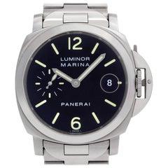 Panerai Luminor Marina PAM00050, Black Dial, Certified and Warranty