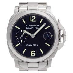 Panerai Luminor Marina PAM00050, Beige Dial, Certified and Warranty