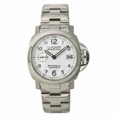 Panerai Luminor Marina PAM00051 Men's Automatic Watch White Dial SS