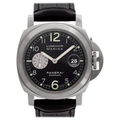 Panerai Luminor Marina PAM00086, Black Dial, Certified and Warranty