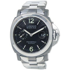 Panerai Luminor Marina PAM00165, Black Dial, Certified and Warranty