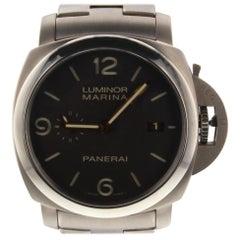 Panerai Luminor Marina PAM00352, Black Dial, Certified and Warranty