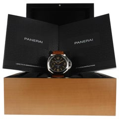 Panerai Luminor Marina PAM00632, Brown Dial, Certified and Warranty