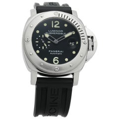 Panerai Luminor PAM00024, Black Dial, Certified and Warranty