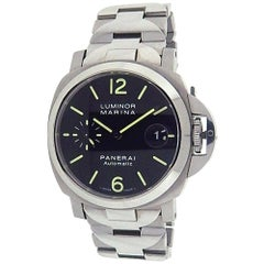 Panerai Luminor PAM00050, Black Dial, Certified and Warranty