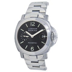 Panerai Luminor PAM00050, Silver Dial, Certified and Warranty