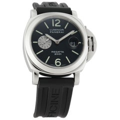 Panerai Luminor PAM00107, Black Dial, Certified and Warranty