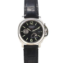 Panerai Luminor PAM00125 Power Reserve Leather Strap Watch