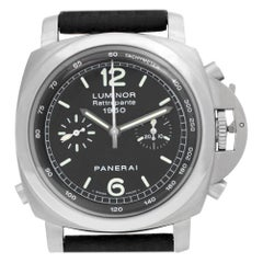 Panerai Luminor PAM00213, Silver Dial, Certified and Warranty