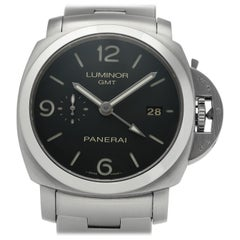 Panerai Luminor PAM00329, Black Dial, Certified and Warranty