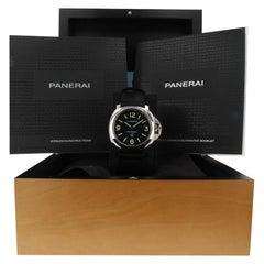 Panerai Luminor PAM01000, Black Dial, Certified and Warranty