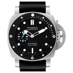 Panerai Luminor Submersible Black Rubber Strap Men's Watch PAM00683
