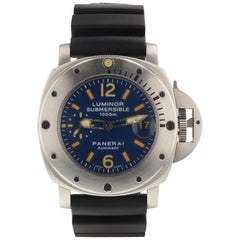 Panerai Luminor Submersible PAM00087, Blue Dial, Certified and Warranty