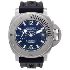 Panerai Luminor Submersible PAM00087, Grey Dial, Certified and Warranty