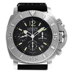 Panerai Luminor Submersible PAM00187, Black Dial, Certified and Warranty