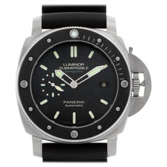 Panerai Luminor Submersible PAM00389, Black Dial, Certified