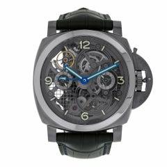 Panerai Luminor Tourbillon GMT Special Edition Titanium Watch PAM00578