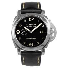 Panerai Luminora Marina 1950 Automatic Black Dial Men's Watch Item No. PAM00359