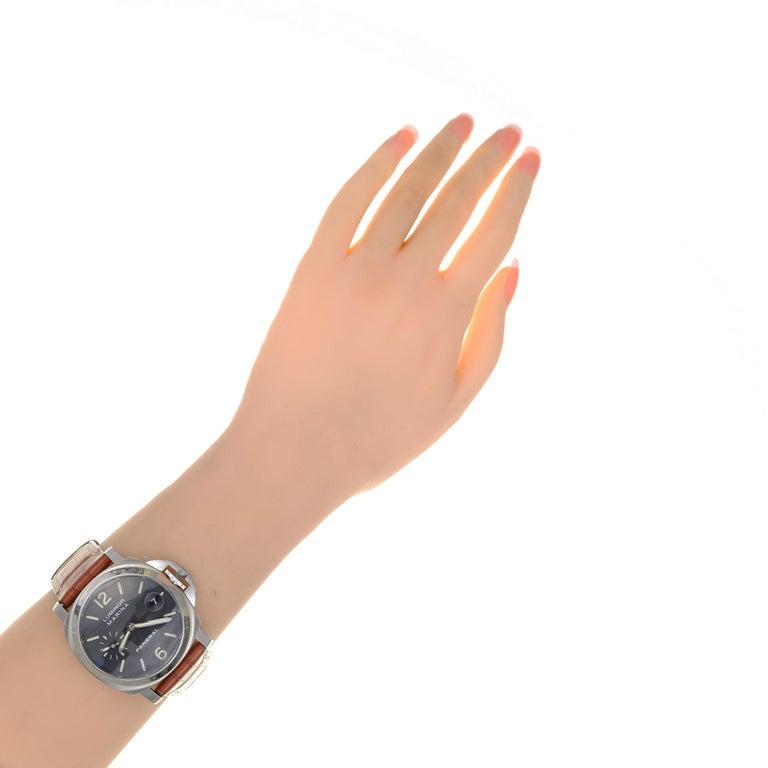 Panerai Men's Automatic Luminore Marina Pam Wristwatch Ref Pam00048 For Sale 7
