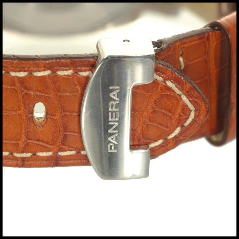 Panerai Men's Automatic Luminore Marina Pam Wristwatch Ref Pam00048 For Sale 3