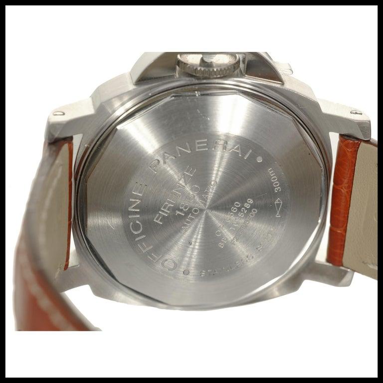 Panerai Men's Automatic Luminore Marina Pam Wristwatch Ref Pam00048 For Sale 5