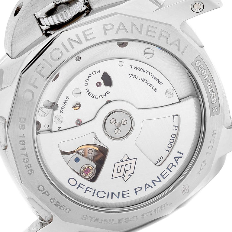 Panerai Officine Luminor 1950 3 Days Power Reserve Watch PAM00535 For Sale 3
