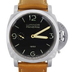 Panerai Pam 127 Fiddy 1950 Special Edition Leather Watch