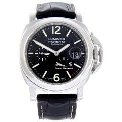 Panerai Pam 90 Luminor Power Reserve Wristwatch
