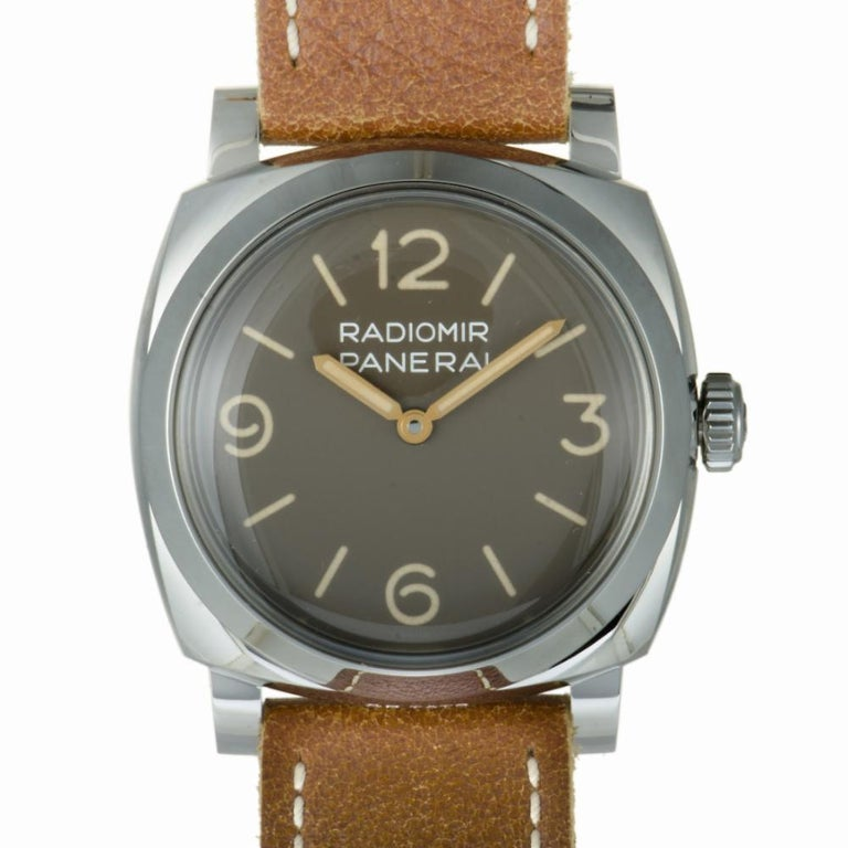 Panerai Radiomir 1940 3 Days Acciaio, 2000, offered by the Collective