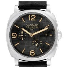 Panerai Radiomir 1940 GMT Power Reserve Men's Watch PAM00628 Box Papers